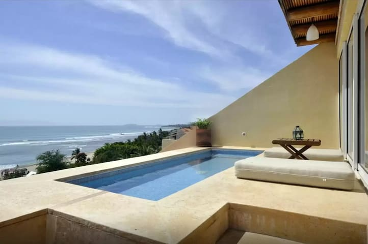 PRIVATE PLUNGE POOL IN PARADISE - Punta de Mita - Condominium
