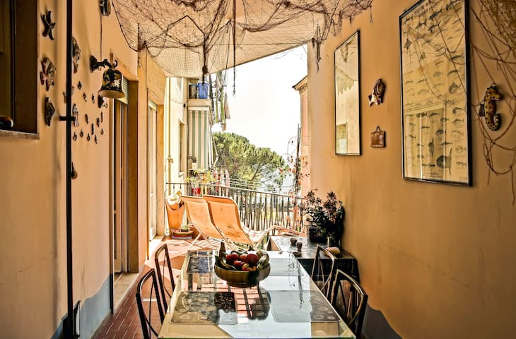 Amalfi Coast SeaView 50m from beach - Maiori - Casa