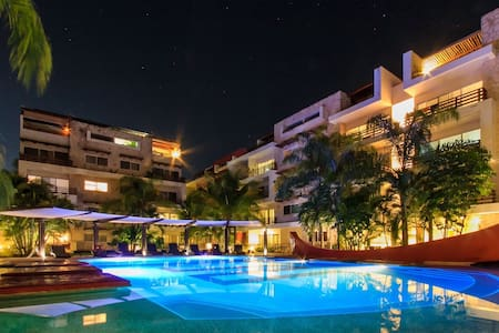 JAGUARAS DELUXE 2 BEDROOMS - Playa del Carmen - Apartment