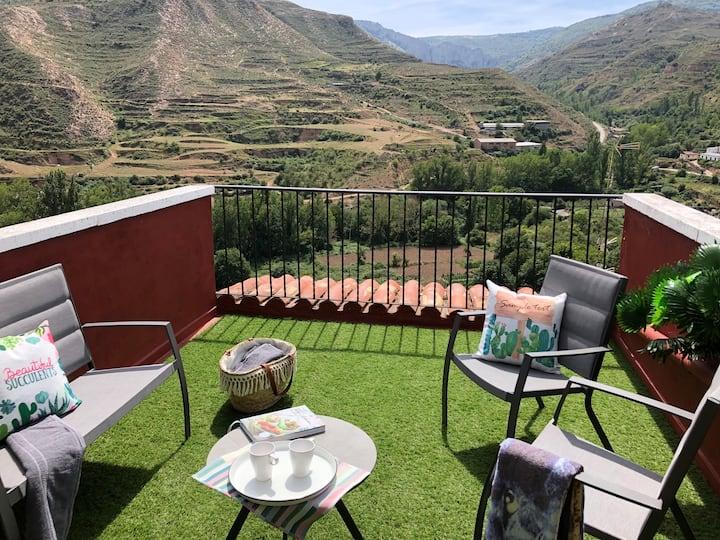 Casa Bella vista - 4 (con vistas a las montañas )