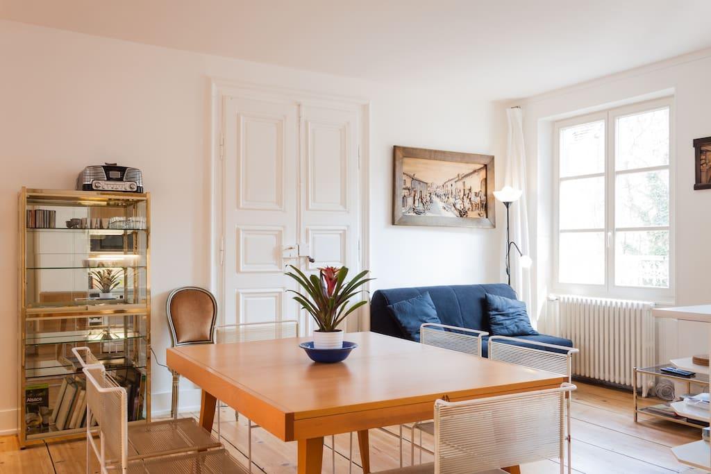Tr s beau 4 pi ces meubl appartements louer - Location appartement meuble strasbourg ...