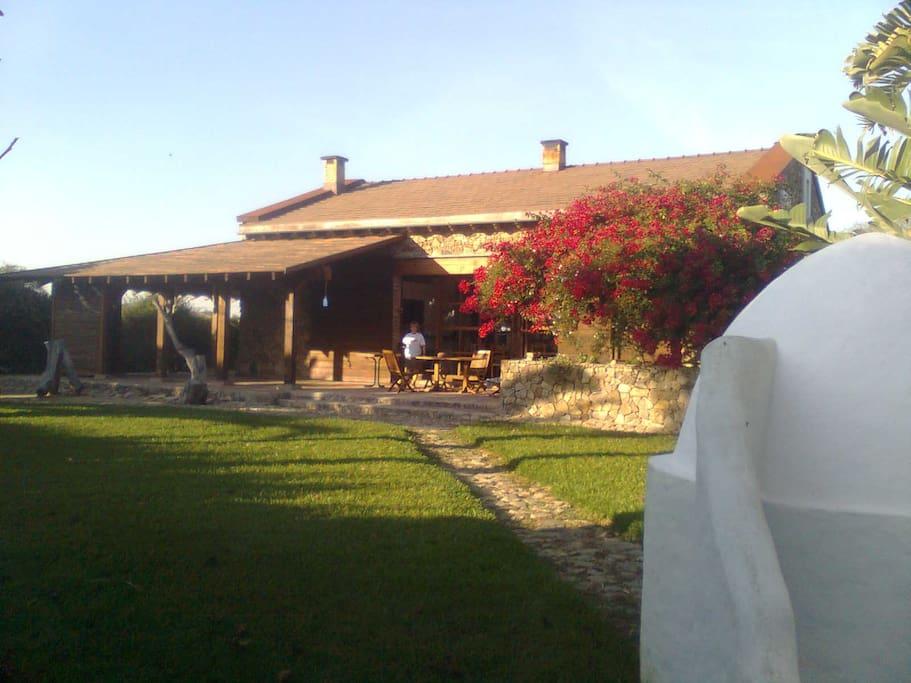 Casa de piedra de la laguna casas rurales en alquiler en vejer de la frontera andaluc a espa a - Casa rural vejer de la frontera ...