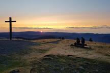 Sonnenaufgang auf dem Belchen