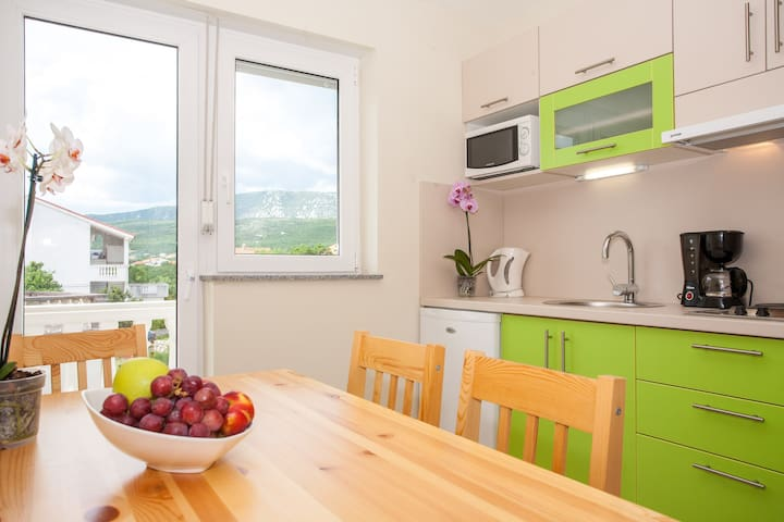 One bedroom apartment for 3 person - Crikvenica
