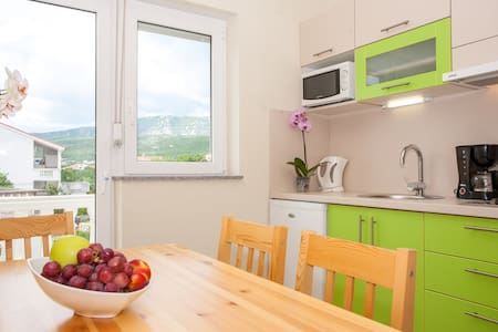 One bedroom apartment for 3 person - Crikvenica - 公寓