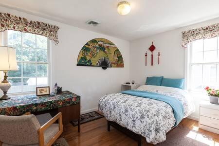 Cozy rooms with parking and Wi-Fi - Boston - Huis