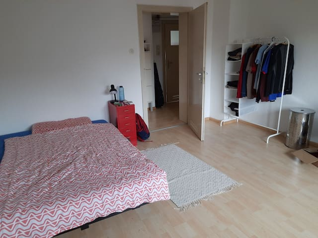15 minutes walk from central station