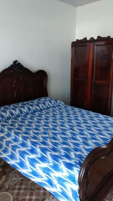 Um de nossos quartos.