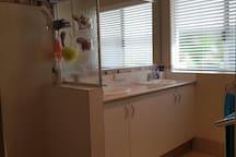 shared clean bathroom