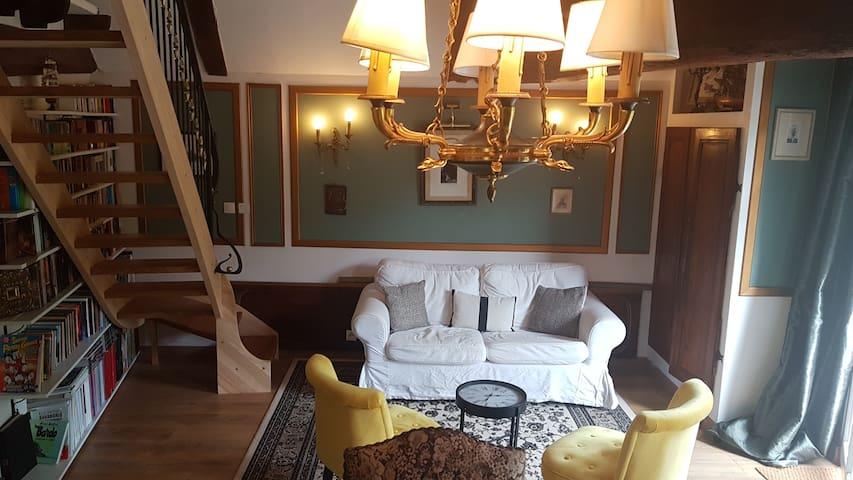 Manoir de Barbotin. La Suite Verte