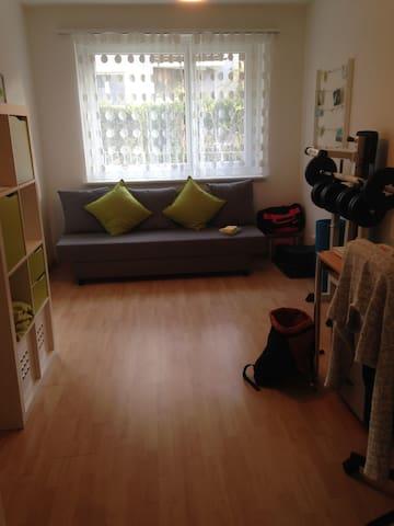 Warm cozy room near city centre - Zürich - Wohnung