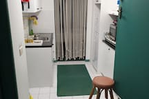 Kitchenette, limited area