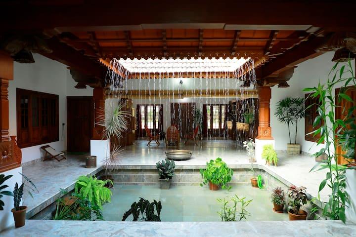 The Aranya Homestay Wayanad - Courtyard 2