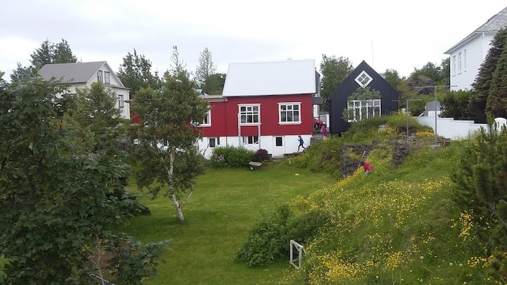 Our house in Iceland's most beautiful street