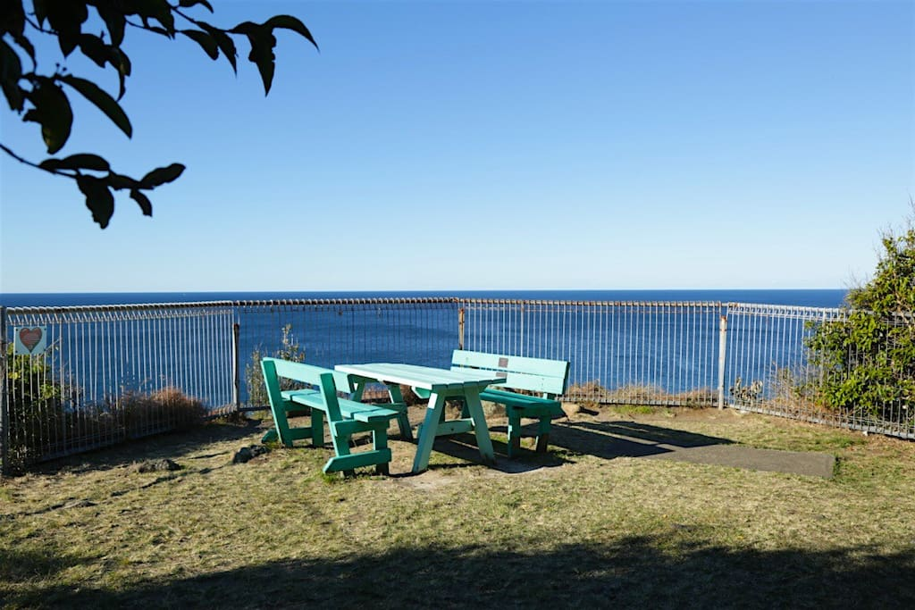 Picnic here 100m from your unit with sweeping views to the north