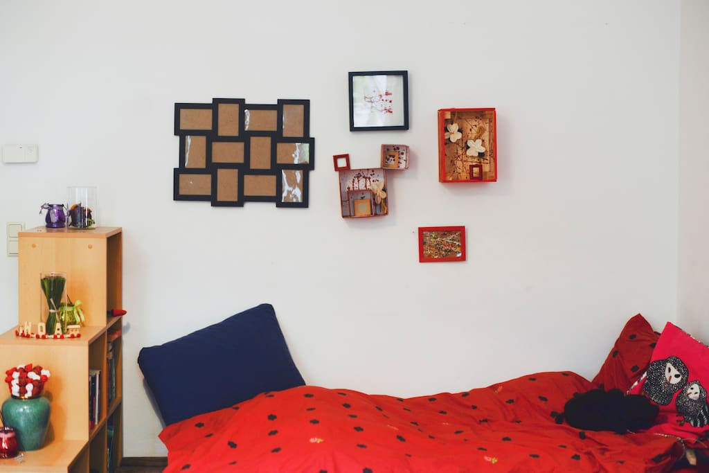 The cozy bed ^^