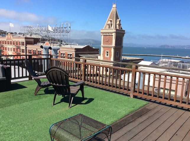 Fisherman's Warf, 2 Bedroom View Flat, Roof deck