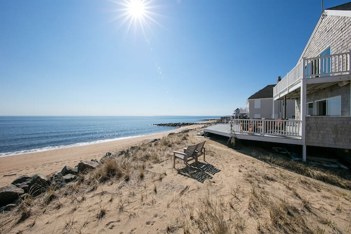 Plum Island waterfront beach getaway - Newbury - Hus