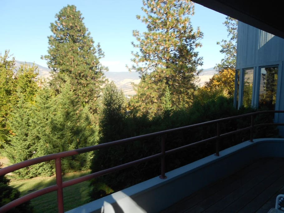 view from one of decks