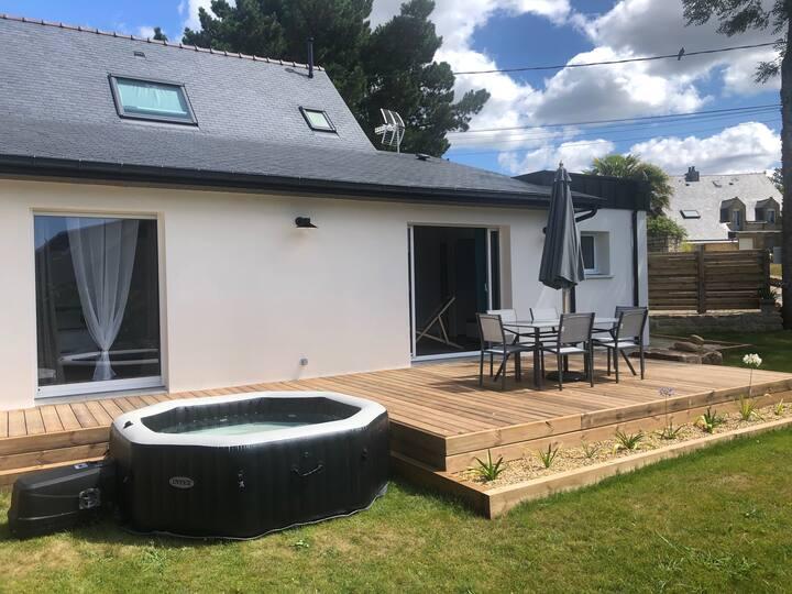 Maison avec spa à proximité de la Ria d'Etel