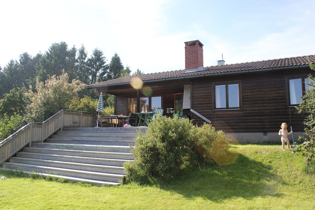 Summer retreat with amazing views houses for rent in orust municipality v stra g taland - Large summer houses energizing retreat ...