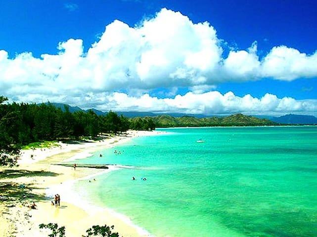 Seastar Studio,Walk to Kailua Beach - Kailua - Apartment