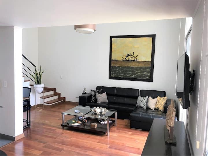 Elegante y moderno Duplex en Miraflores