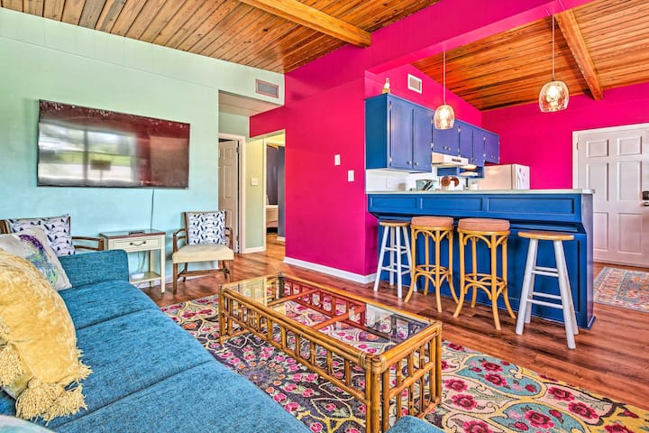 NEW! Vibrant PCB Abode w/ Patio: Walk to the Beach
