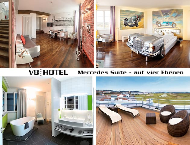 Mercedes Suite - Böblingen - Serviced apartment