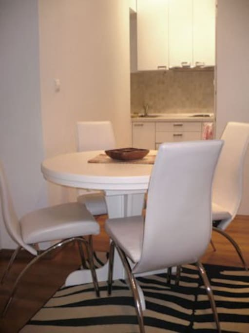 dining area / kitchen