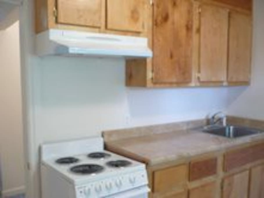 Shared kitchens for short and extended stays.