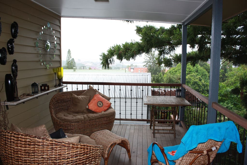 Great views from the back deck, a great place to unwind, read a book or enjoy your breakfast or dinner.