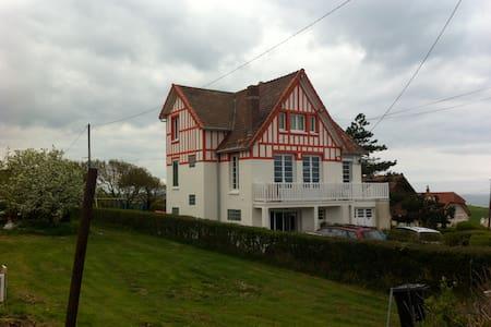 BIG FAMILY HOUSE BY THE SEA, GARDEN - Quiberville - Casa