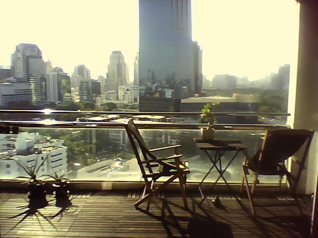 Penthouse overlooking the park! - Bangkok - Flat