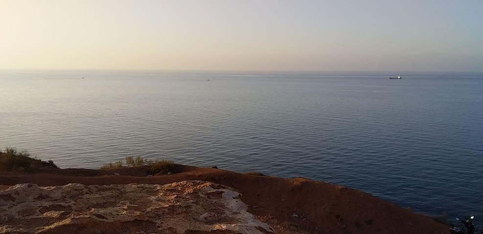 Maison face a la mer