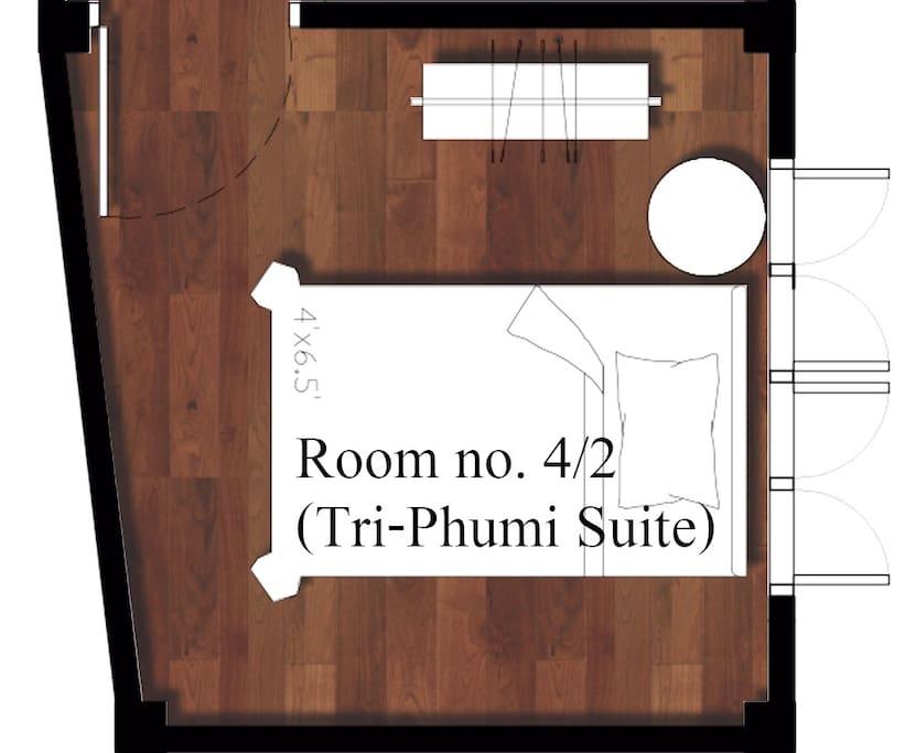 Plan Room no 4/2