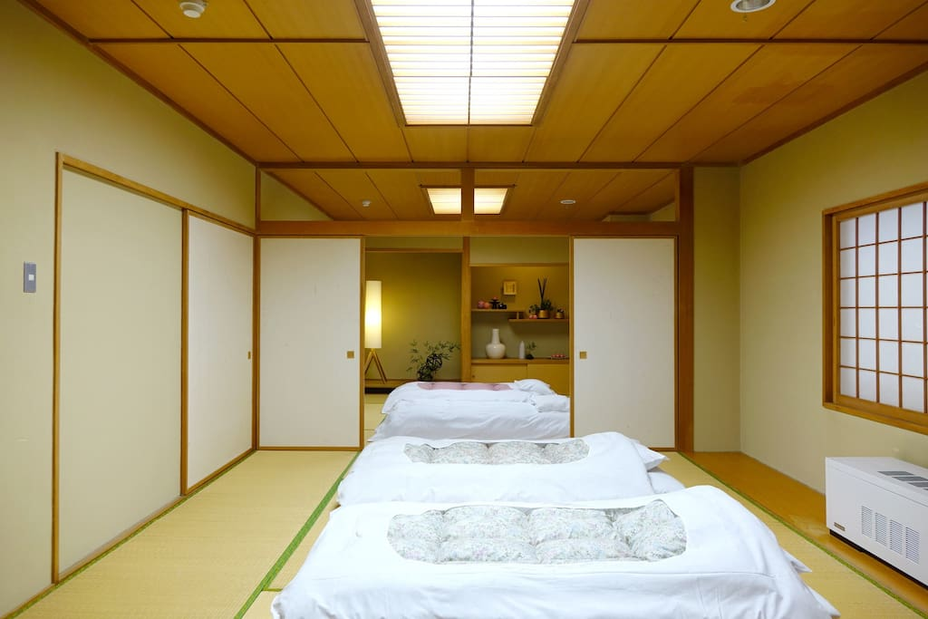Ebina japanese tatami suite bed and breakfasts for rent for Tokyo bed and breakfast