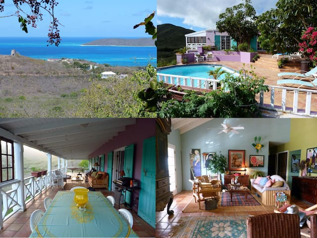 Delightful, Relaxing Island Retreat - St. Croix - Bed & Breakfast