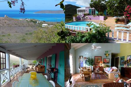 Delightful, Relaxing Island Retreat - St. Croix - 家庭式旅館