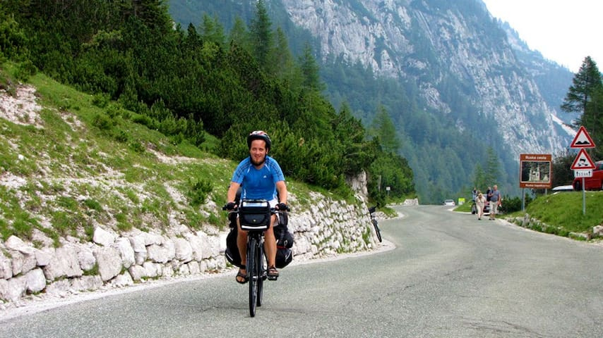 ... and if you are a good cyclist you can reach Vršič, the most famous mountain pass.