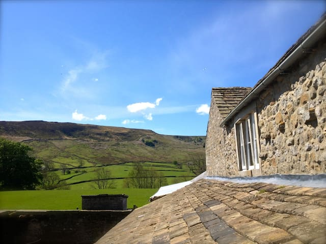 Double Room in Cosy Dales Cottage - North Yorkshire - Hus