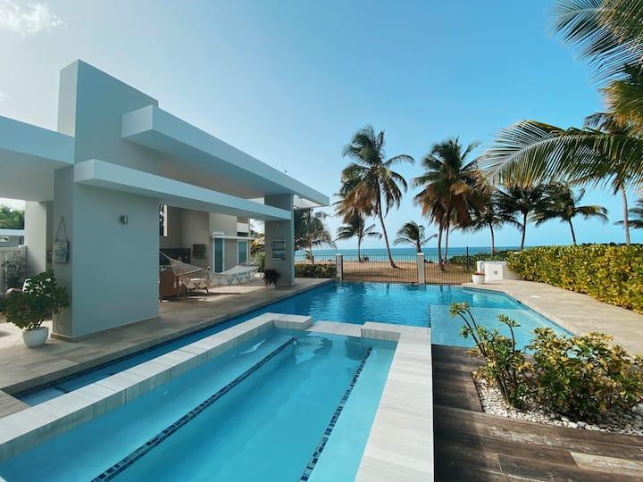 Ocean Eleven Luxurious Beachfront Pool House