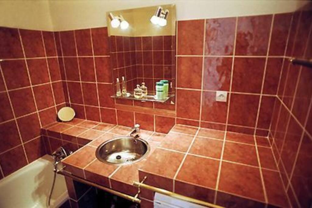 Bathroom, separate toilet.