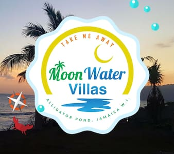 MOON WATER VILLA Beach Front with  Mountain Views
