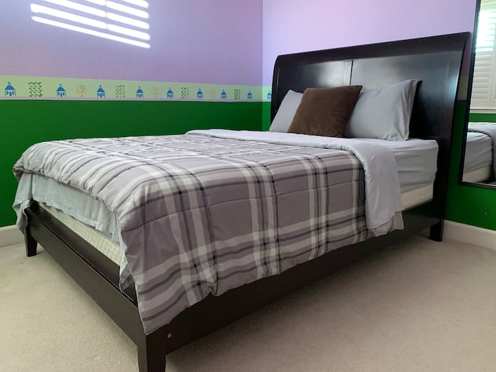 A room in a very nice home for short and long stay