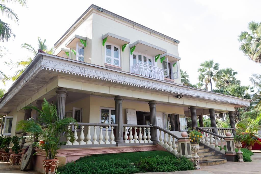 The serene villa