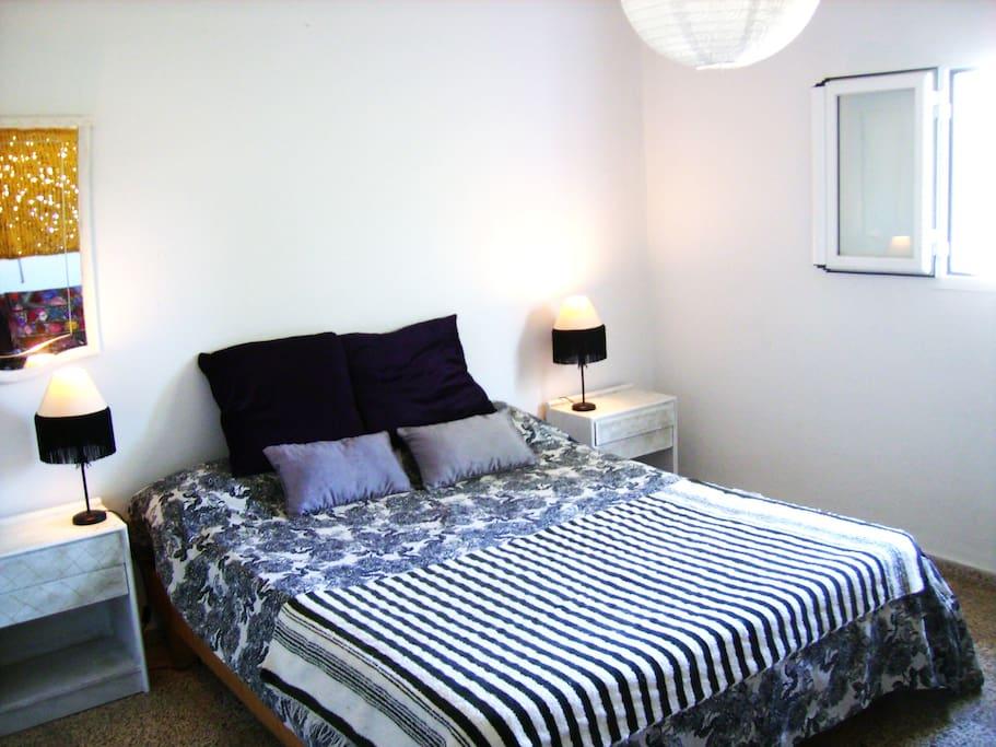 Beautiful calm and sunny room.