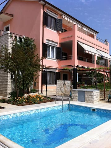 Pula apartment with pool (2+2)