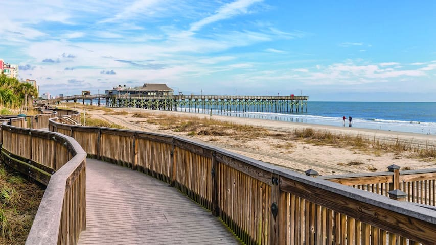 1Bd, Seaside Retreat near Cherry Grove Park!!