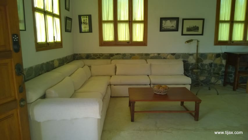 Ample and comfortable living areas.
